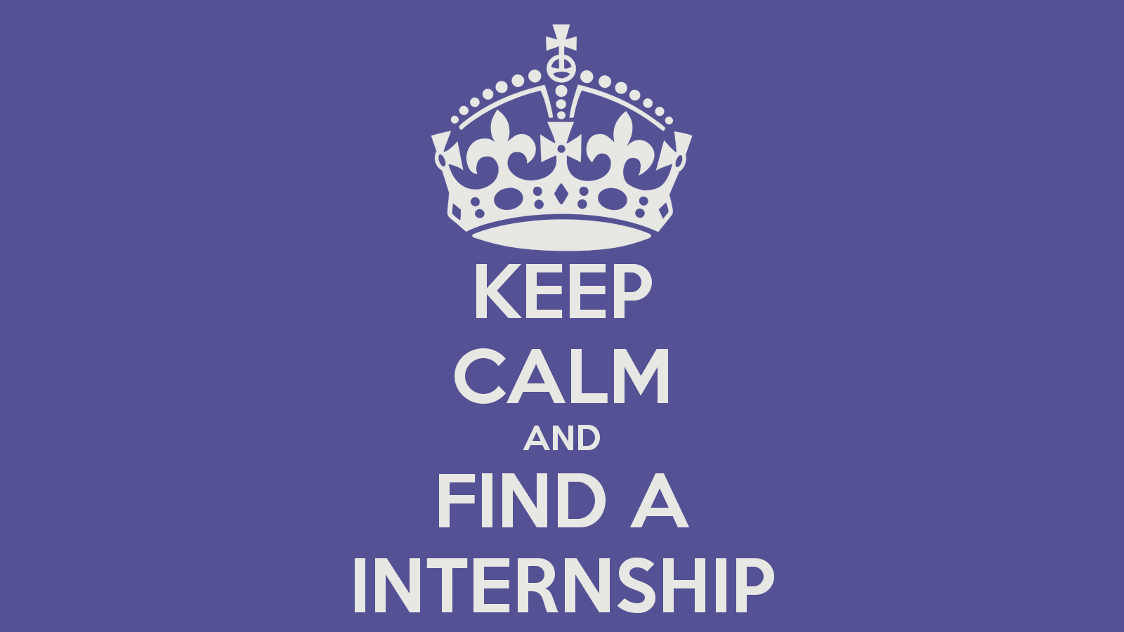 how to find interns