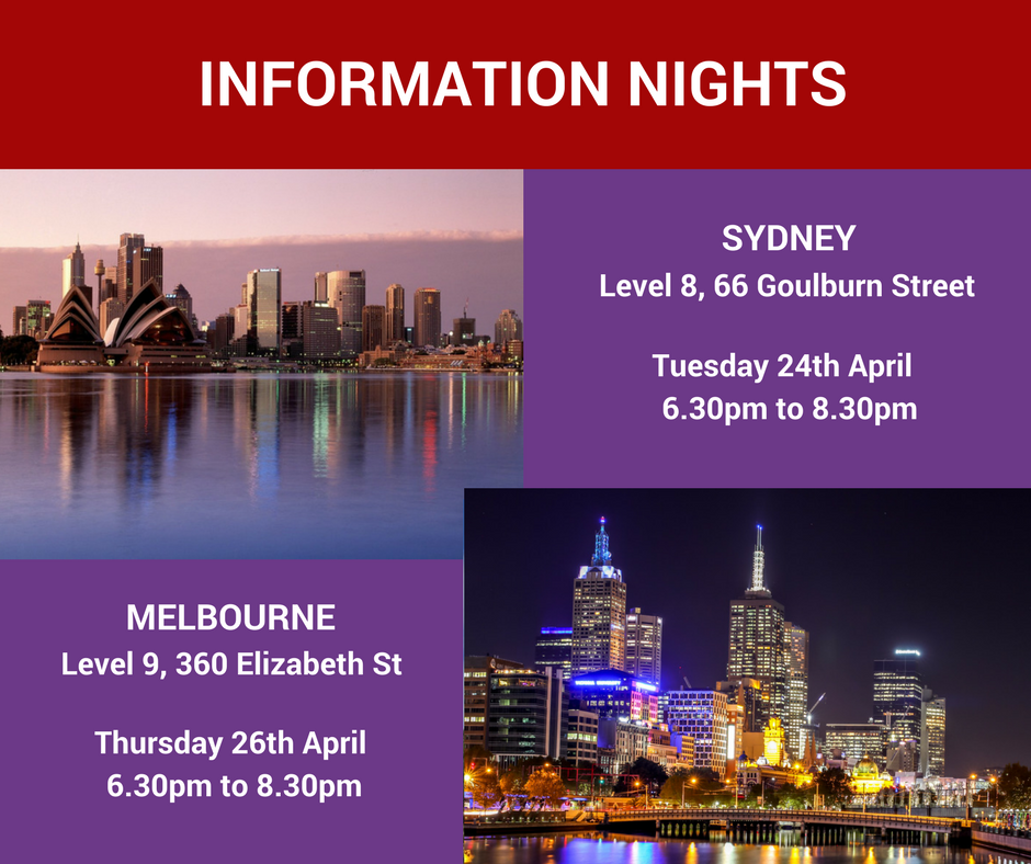 Asu online start dates in Melbourne