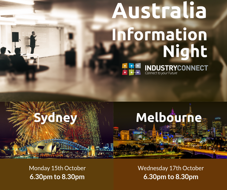 Industry Connect information night