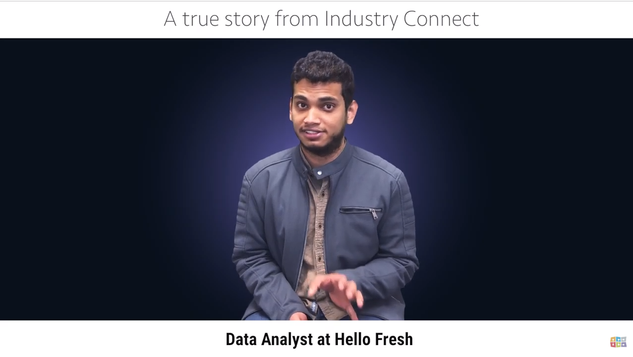 Rahul now has a data analyst job thanks to us!