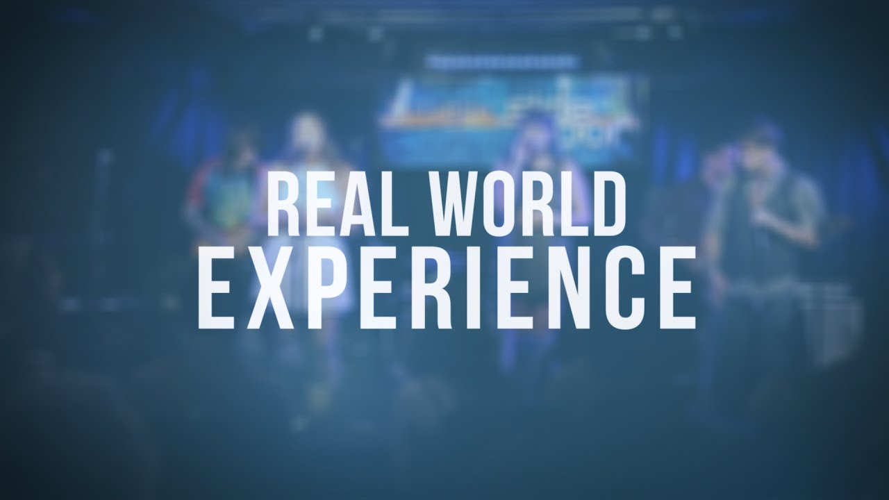 Only real-world experience gets you a real-world job!