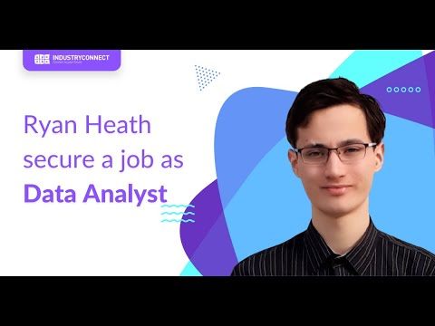 Ryan Heath is now a Data Analyst after joining us
