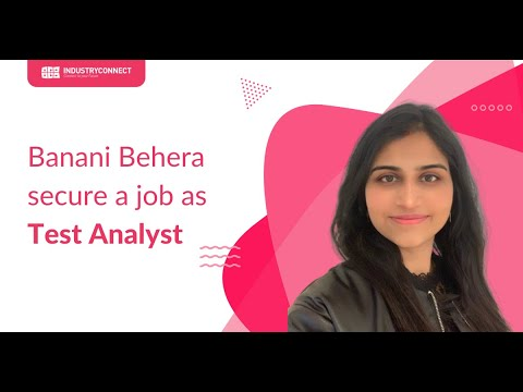 Banani Behera secure a job as Test Analyst