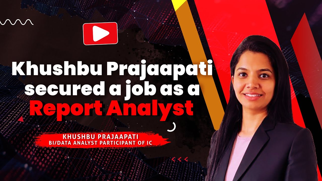 Good news from Australia as Khushbu secured a job as a report analyst!