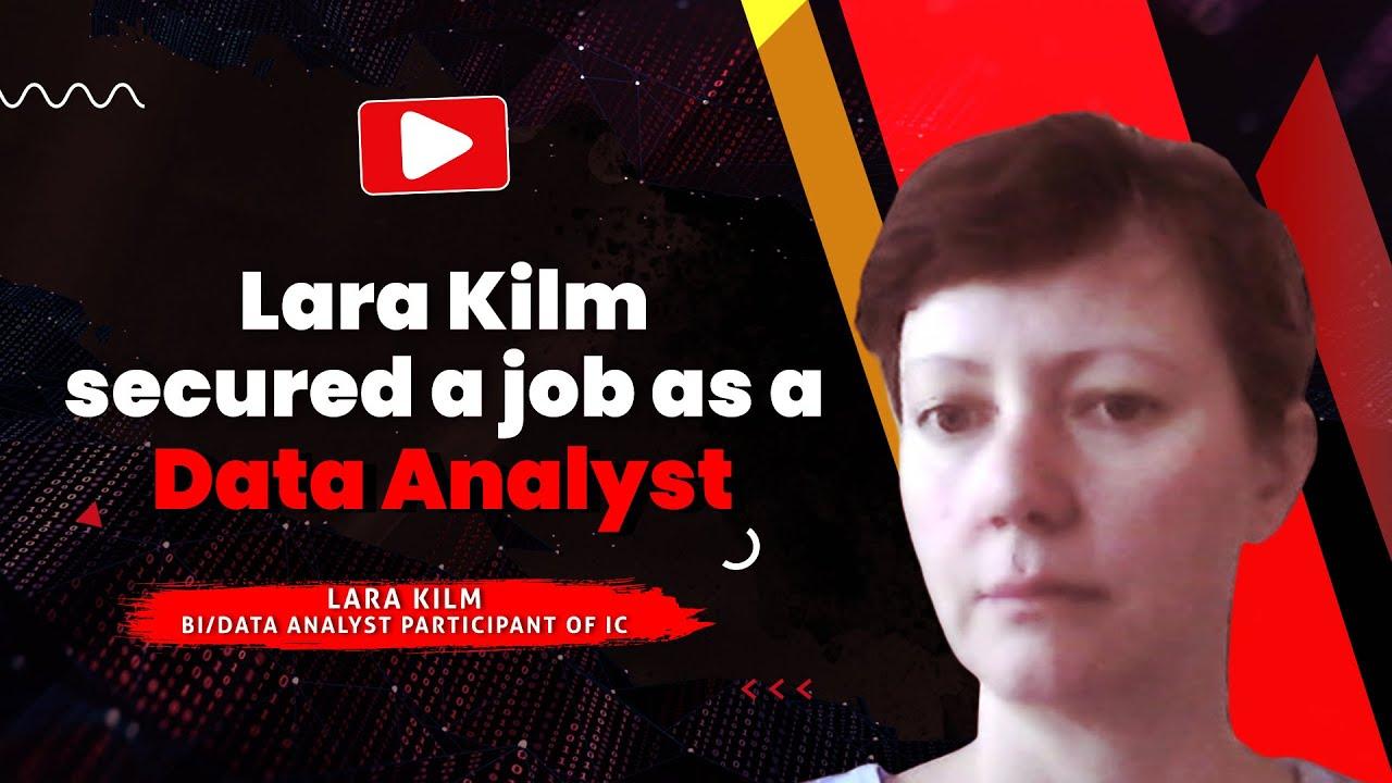 Lara postition as a data analyst